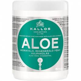 KALLOS Aloe Vera Moisture Repair Shine Hair Mask 1000 ml