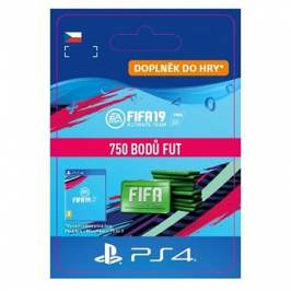 750 FIFA 19 Points Pack - PS4 CZ Digital