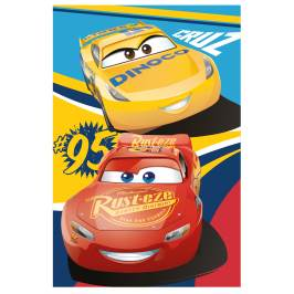 Jerry Fabrics Cars 3 Fleecová deka